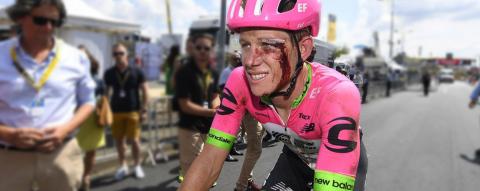 Lawson Craddock sigue pedaleando en el Tour