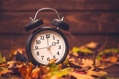 El cambio horario significa ahorro