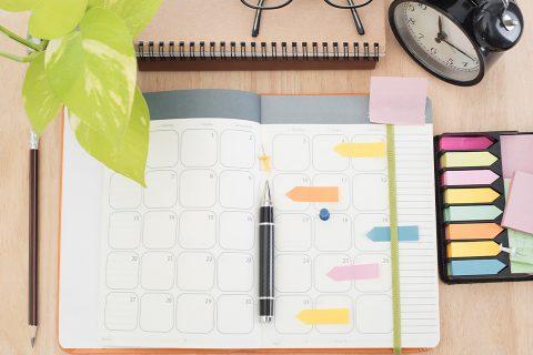 Organiza tu agenda, optimiza tu tiempo