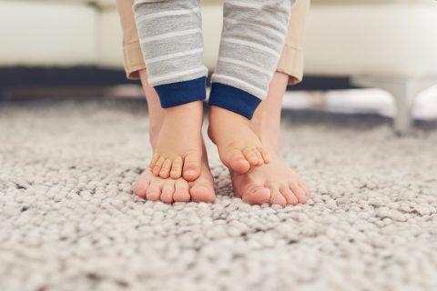 El placer de mimar los pies